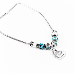 Calli's Corner - fingerprint impression jewelry necklace heart