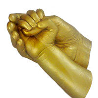 3D Cast Gold Colour
