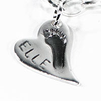footprint fingerprint jewellery wavy-heart-charm