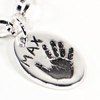 handprint fingerprint jewellery standard-charm