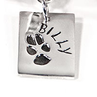 Rectangle Bracelet Charm-Pet Corner
