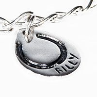 Teardrop Fingerprint or Imprint Charm