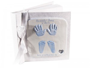 Full Set 2D Ceramic Baby Impressions Photo Album