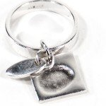 Ring Band with Ring Charm