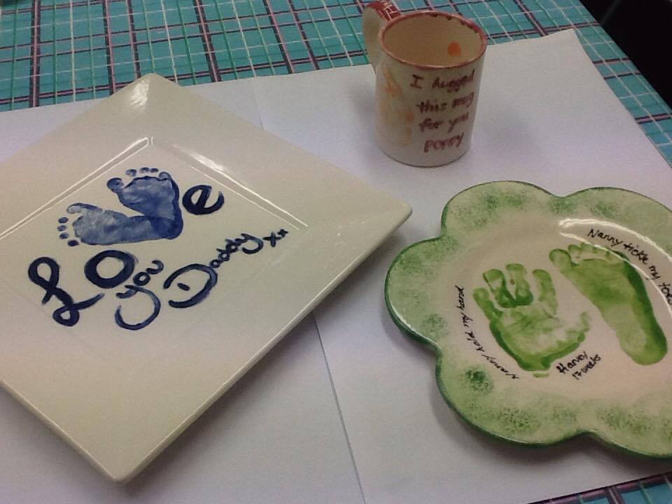 Hug Mug and Love Plates
